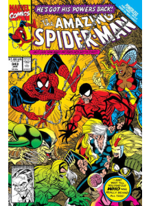Comics 1991-01 The Amazing Spider-Man 343