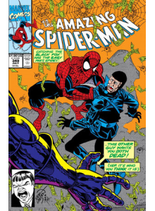 Comics 1991-07 The Amazing Spider-Man 349