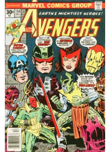 Комикс 1976-12 The Avengers 154