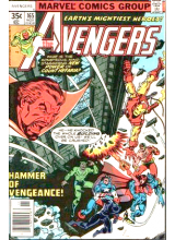 Комикс 1977-11 The Avengers 165