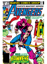 Комикс 1979-11 The Avengers 189