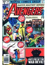 Комикс 1980-07 The Avengers 197