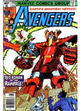 Комикс 1980-08 The Avengers 198