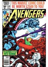 Комикс 1980-09 The Avengers 199