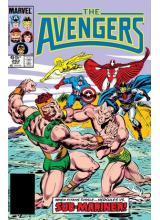Комикс 1985-12 The Avengers 262