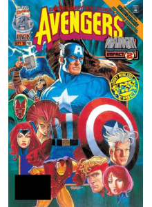 Комикс 1996-09 The Avengers 402