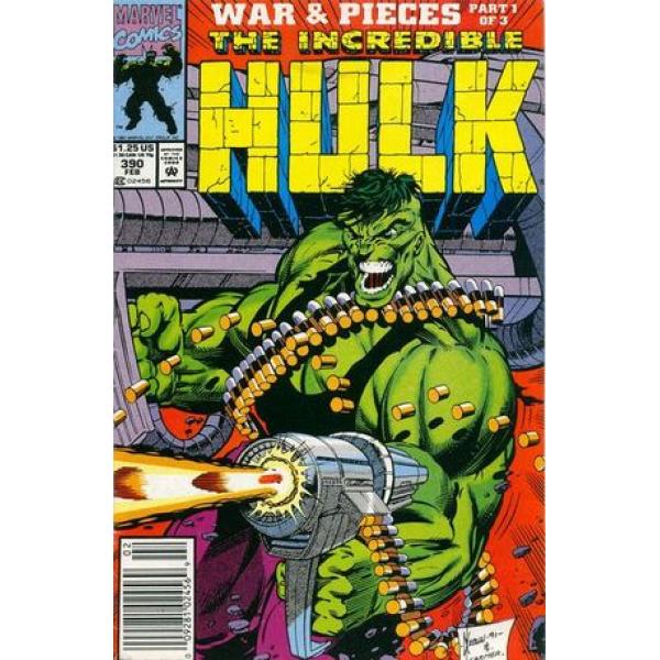 1992-02 The Incredible Hulk 390 1