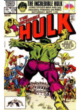 Комикс 1982-12 The Incredible Hulk 278
