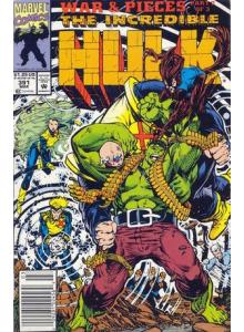 Комикс 1992-03 The Incredible Hulk 391