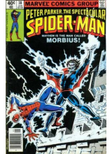 Комикс 1980-01 The Spectacular Spider-Man 38
