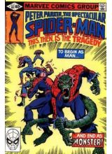 Комикс 1980-03 The Spectacular Spider-Man 40