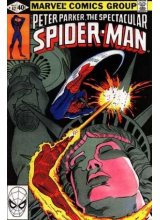 Комикс 1980-05 The Spectacular Spider-Man 42