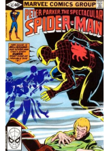 Комикс 1980-06 The Spectacular Spider-Man 43