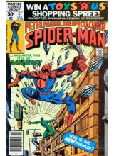 Комикс 1980-10 The Spectacular Spider-Man 47