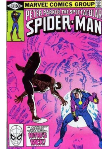 Комикс 1981-06 The Spectacular Spider-Man 55