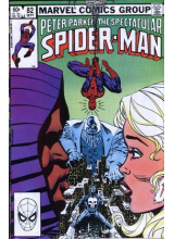 Комикс 1983-09 The Spectacular Spider-Man 82