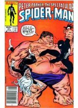 Комикс 1984-06 The Spectacular Spider-Man 91