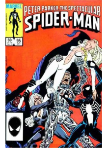Комикс 1984-10 The Spectacular Spider-Man 95