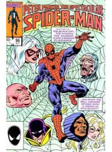 Комикс 1984-11 The Spectacular Spider-Man 96