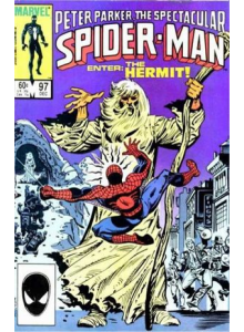 Комикс 1984-12 The Spectacular Spider-Man 97