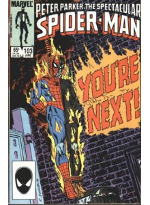 Комикс 1985-06 The Spectacular Spider-Man 103