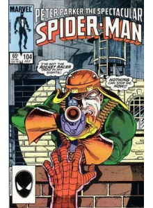 Комикс 1985-07 The Spectacular Spider-Man 104
