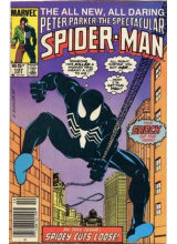 Комикс 1985-10 The Spectacular Spider-Man 107