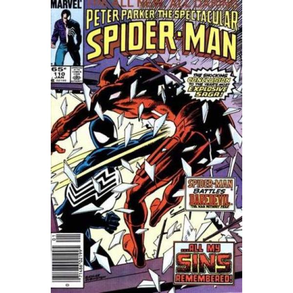 Comics 1986-01 The Spectacular Spider-Man 110 1