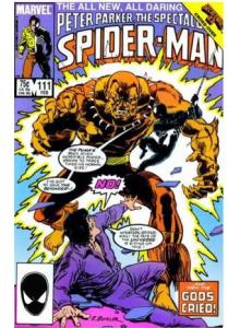 Comics 1986-02 The Spectacular Spider-Man 111