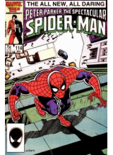 Комикс 1986-05 The Spectacular Spider-Man 114