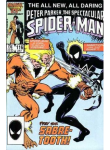 Комикс 1986-07 The Spectacular Spider-Man 116