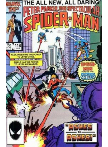 Комикс 1986-09 The Spectacular Spider-Man 118