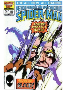 Комикс 1986-10 The Spectacular Spider-Man 119