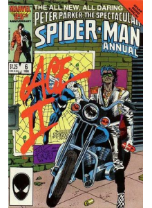 Комикс 1986 The Spectacular Spider-Man Annual 6