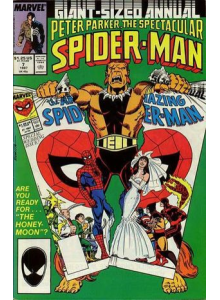 Комикс 1987 The Spectacular Spider-Man Annual 7