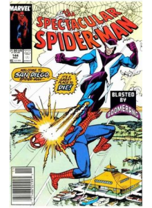 Комикс 1988-11 The Spectacular Spider-Man 144