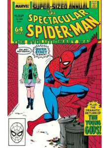 Комикс 1988 The Spectacular Spider-Man Annual 8