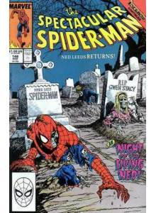 Комикс 1989-03 The Spectacular Spider-Man 148