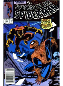 Комикс 1989-09 The Spectacular Spider-Man 154