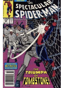 Комикс 1989-10 The Spectacular Spider-Man 155