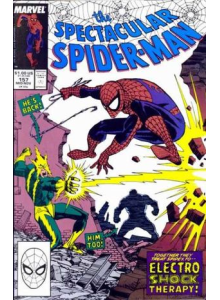 Комикс 1989-11 The Spectacular Spider-Man 157