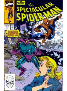 Комикс 1990-05 The Spectacular Spider-Man 164