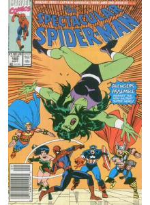 Комикс 1990-09 The Spectacular Spider-Man 168