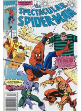 Комикс 1990-10 The Spectacular Spider-Man 169