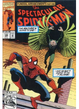 Комикс 1992-03 The Spectacular Spider-Man 186