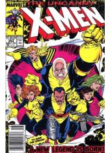 Комикс 1989-12 Uncanny X-Men 254