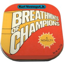 Ментови Бонбонки Breathmints of Champions Kurt Vonnegut