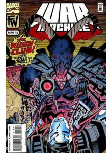 Комикс 1995-03 War Machine 12