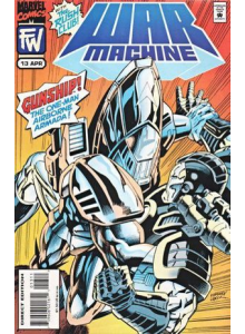 Комикс 1995-04 War Machine 13