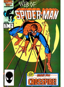 Comics 1986-05 Web of Spider-Man 14